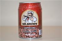 Mr.BROWN lad.káva 240ml capuc/24kt